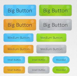 多款css3圆角背景水珠滚动按钮CSS3 Animated Bubble Buttons | Tutorialzine Demo
