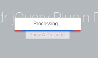 网站加载数据时显示进度图层的javascript插件网页代码