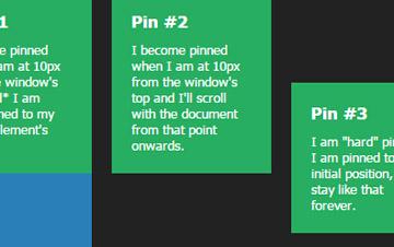 当滚动条滚动时图片悬浮固定于网页顶部的jquery特效代码
