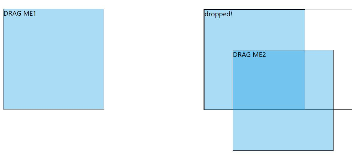 html5 div图层位置移动拖放JavaScript特效代码