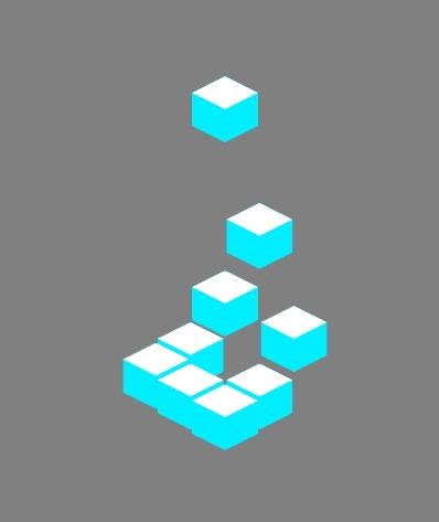九宫格3d立体图形上下跳动页面预加载特效css3动画样式代码