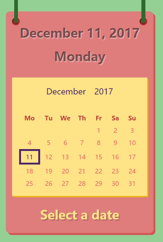 blog博客网站常见的jQuery UI Datepicker日历插件代码