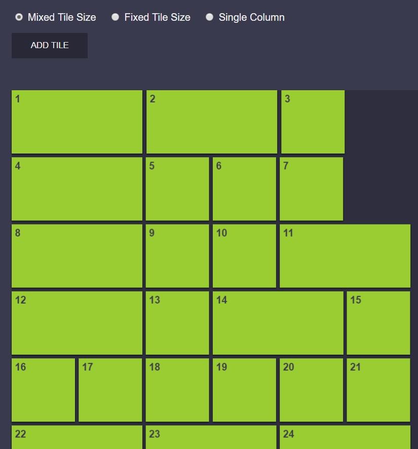 可以拖拽网格移动效果的jQuery插件代码