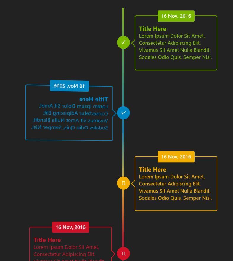 css3 3d时间轴动画样式特效网页素材代码