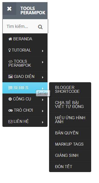 带搜索框左侧二级导航菜单栏特效jQuery插件代码