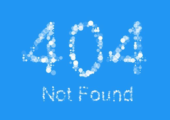 html5 canvas颗粒动画404页面JavaScript代码
