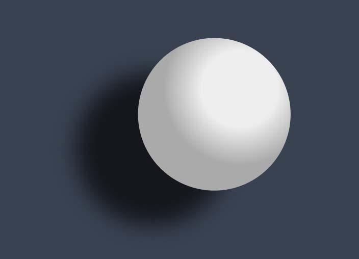 css3阴影3d球形动画弹性效果网页样式素材代码