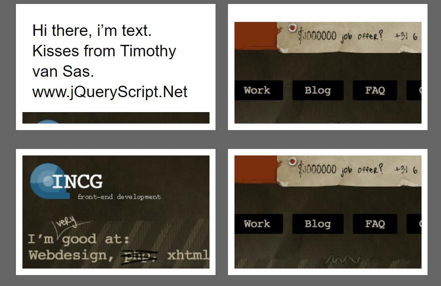 css3鼠标悬停图片描述文字滑动显示列表动画样式