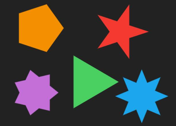 html5 canvas多边形拖拽移动js代码