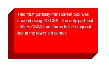css3 3d透明盒子特效网页样式代码