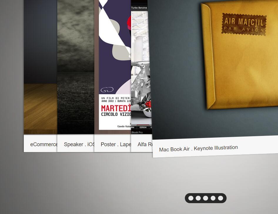 网页响应动画画廊焦点图jQuery插件代码