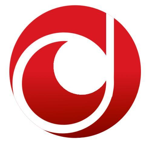 纯css3圆形logo图标翻转动画特效代码