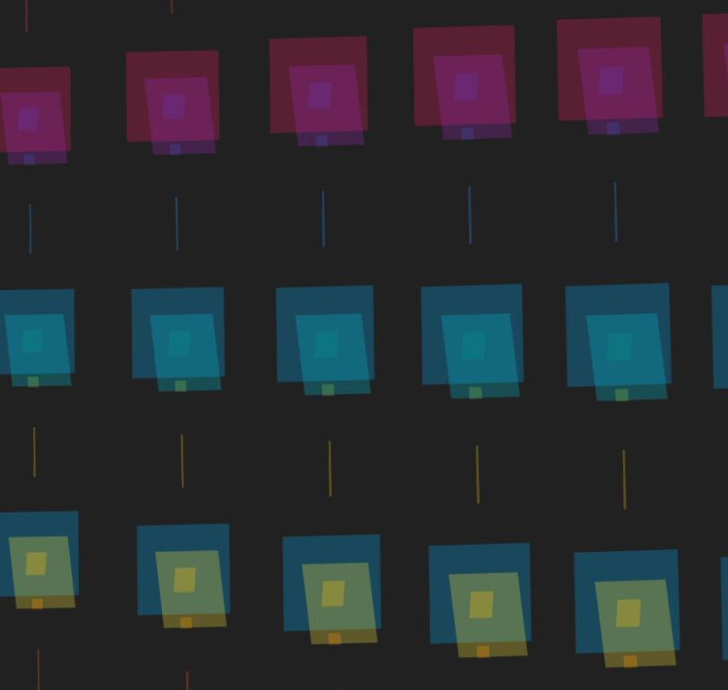 divcss列阵图布局3D切换动画样式代码