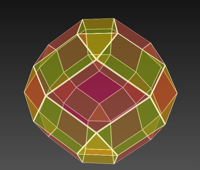 div半透明度多面体图形旋转放大特效网页样式代码
