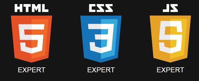 html5css3 logo图标鼠标悬停翻转动画样式代码