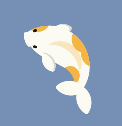 css3样式代码制作小鲤鱼旋转动画