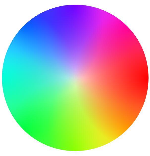css3 radial-gradient属性样式绘制div圆形背景色线性渐变特效