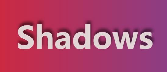 网页文字随鼠标移动显示不同程度text-shadow阴影效果js代码