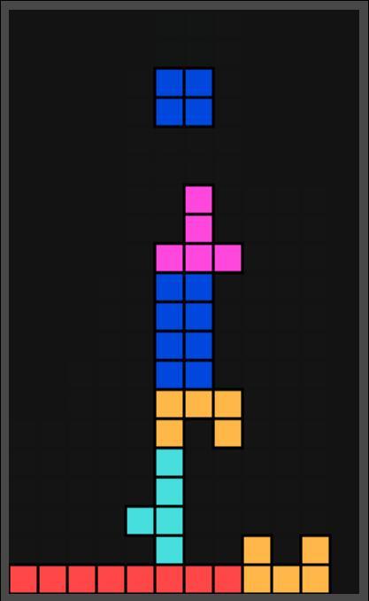 制作html5网页俄罗斯方块小游戏的canvas画布代码