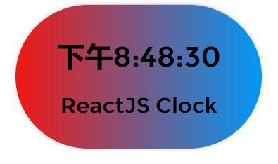 css3 border-radius圆角背景色渐变切换时间秒表react插件代码