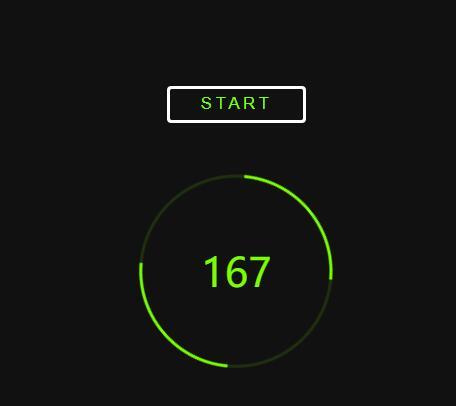 点击按钮数字递增动画js特效代码
