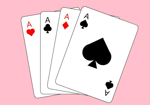 用css3 rotate旋转属性制作扑克牌的样式代码