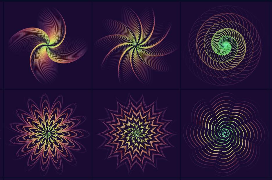 css3 transform属性样式制作多种酷炫图案
