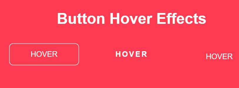 3种鼠标hover悬浮于文字时展示不同动画效果的css3代码