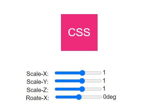 一款通过css3 transform属性选择器代码来控制文字翻转的实例