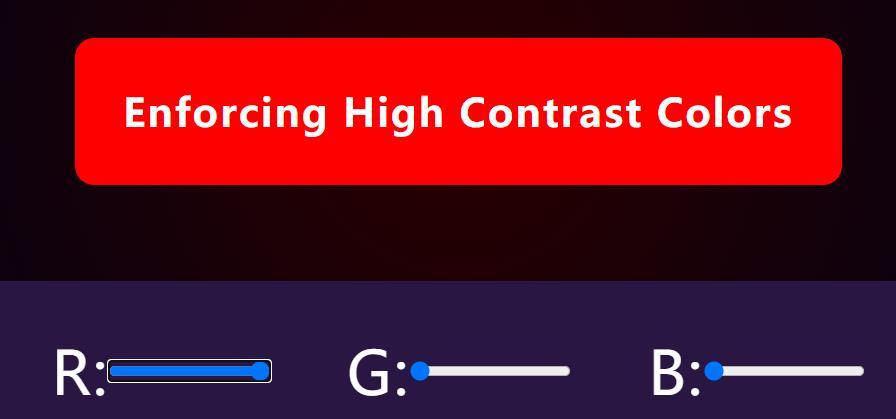 JavaScript操作DOM元素控制div背景颜色的RGB值