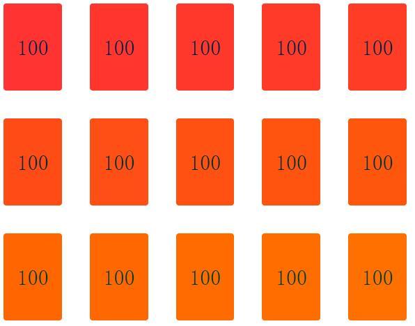 使div列表随滚动条滚动背景色渐变的js代码