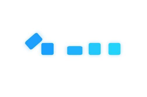 div块状图形前后换位跳动的css after伪类代码